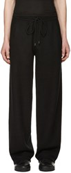 Calvin Klein Collection Black Cashmere Redel Lounge Pants