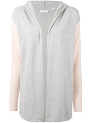 Chinti And Parker Slouchy Cardigan Women Cashmere L Grey