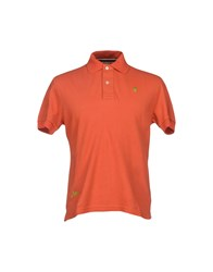 Jaggy Topwear Polo Shirts Men Rust