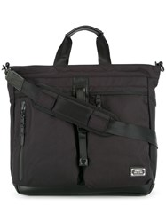 As2ov Double Buckle Tote Black