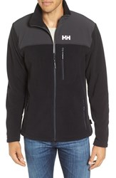 Helly Hansen Men's Sitka Full Zip Polartec Fleece Jacket Black