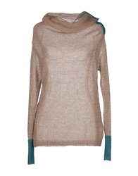 Chiara Bertani Turtlenecks Dove Grey