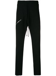 Lost And Found Rooms Slim Drop Crotch Joggers Black