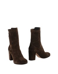 Lemare Ankle Boots Dark Brown