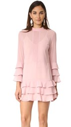 Endless Rose Dress With Tiered Sleeve French Rose