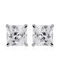 Carat 0.5Ct Princess Studs Female