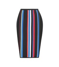 Versace Striped Skirt Multicoloured