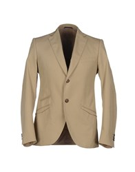 Maurizio Miri Suits And Jackets Blazers Men Sand