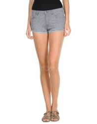 Rebecca Taylor Denim Shorts Grey