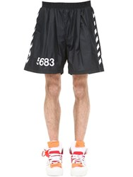 Hummel Willy Chavarria Shorts W Side Bands Black