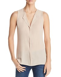 B Collection By Bobeau Lily Pleated Back Sleeveless Top Bone