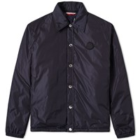 Moncler Twist Matthieu Coach Jacket Blue