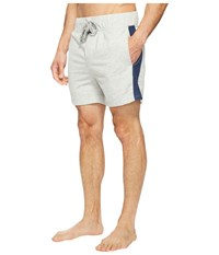 Kenneth Cole Reaction French Terry Jam Light Heather Grey Men's Pajama Silver