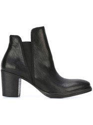 The Last Conspiracy Chunky Heel Ankle Boots Black