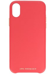Anya Hindmarch 117074 Lollipop Iphone X Pink And Purple