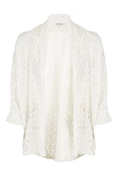 Under Cover Ivory Lace Kimono By Wyldr