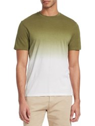 Saks Fifth Avenue Modern Ombre T Shirt Olive
