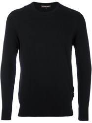 Michael Kors Crew Neck Sweater Black