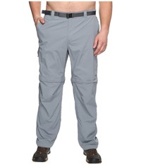 Columbia Silver Ridge Convertible Pant Extended Grey Ash Men's Workout Gray