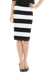 Vince Camuto Women's Cuban Stripe Tube Skirt