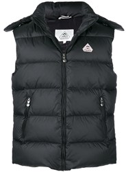 Pyrenex Zipped Padded Vest Black