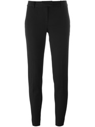 Michael Michael Kors Slim Fit Trousers Black