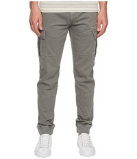Belstaff Cranmer Garment Dyed Chino Forge Grey Men's Casual Pants Gray