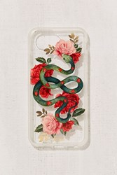 Urban Outfitters Snake Rose Iphone 6 7 8 Case Clear
