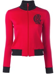 Jean Paul Gaultier Vintage Sport Zipped Jacket Red