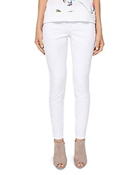 Ted Baker Amandda Clean Skinny Jeans In White