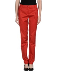 Akris Punto Casual Pants Red
