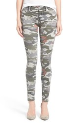 Women's True Religion Brand Jeans 'Halle' High Rise Skinny Jeans Camo Floral
