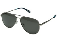 Toms Maverick 301 Polarized Satin Silver Fashion Sunglasses