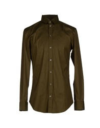 Dandg D And G Shirts Military Green