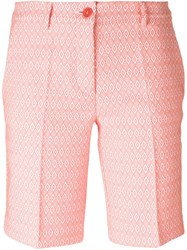 P.A.R.O.S.H. Patterned Shorts Pink And Purple