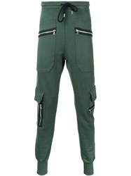 Markus Lupfer Zipped Pocket Track Pants Green