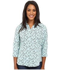 Royal Robbins Expedition Stretch 3 4 Sleeve Print Cove Women's Clothing Brown