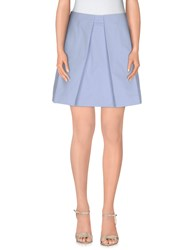 Paul And Joe Sister Skirts Mini Skirts Women Sky Blue