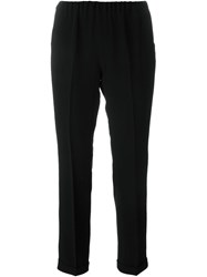 Alberto Biani Slim Fit Trousers Black