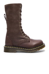 Dr. Martens Hazil Tall Slouch Boot Brown