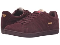 Gola Equipe Suede Burgundy Burgundy Men's Shoes