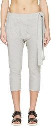 Maison Martin Margiela Grey Tie Lounge Pants