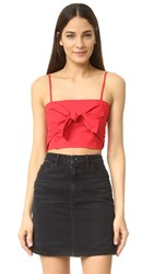 Veda Knot Top Red