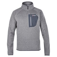Berghaus Chonzie Half Zip Men's Fleece Silver