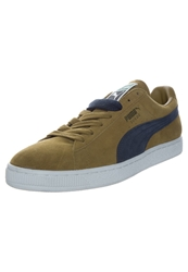Puma Suede Classic Trainers Bistre Peacoat Brown