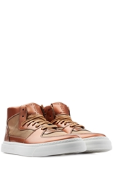 Marc Jacobs High Top Leather Sneakers