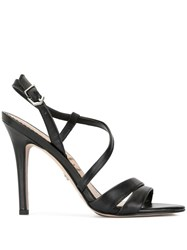 Sam Edelman Alessandra Strappy Heeled Sandals Black