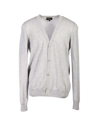 Emporio Armani Cardigans Light Grey
