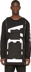 Hood By Air Black Altitude Pullover