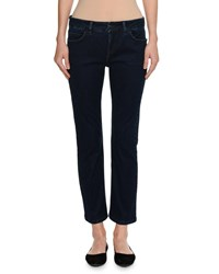 Piazza Sempione Low Rise Slim Straight Jeans Blue